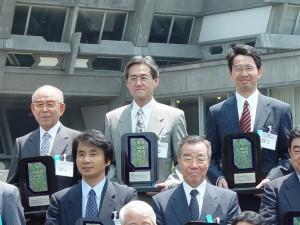 Photo with Prof. Akasaki